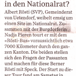 Thuner Tagblatt, 2. August 2011